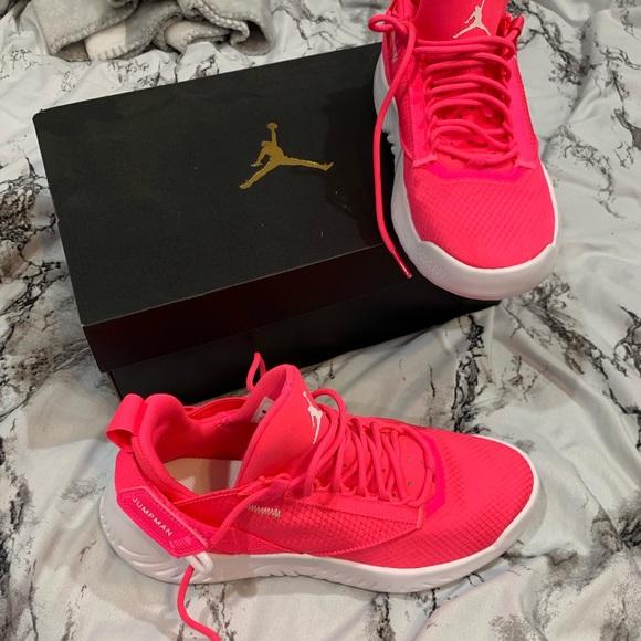 Jordan Shoes   Girls Hot Pink Jordans